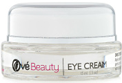 Ové Beauty Best Eye Cream For Wrinkles, Dark Circles And Puffiness With Hyaluronic Acid, Vitamin C, Msm, Glycolic Acid, Green Tea, Rosehip Oil And Coenzyme Q10