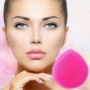 LURE Home Spa Fine Silicone Facial Brush, Cleanser And Exfoliator For Healthy Radiant Glow Face, Neck Decolletage
