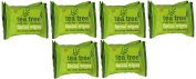 Tea Tree Daily Cleasing Facial Wipes For Clean & Healthy Skin (TWIN PACK) SIX PACK