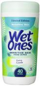 EDGEWELL - Wet Ones Sensitive Skin Hand Wipes Extra Gentle - 40 Wipes