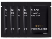 5Pcs Blackhead Remover Deep Cleansing Purifying Peel Acne Black Mud Face Mask PILATEN