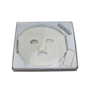 THB Three Lights LED Mask,72 Nanometer Light,A Special Translucent Silicone Treatment