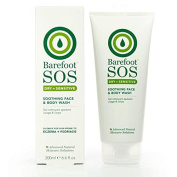Barefoot SOS Soothing Face & Body Wash 200ml