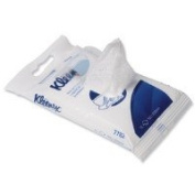Pack of 15 Kleenex Hand and Surface Sanitising Wipes-