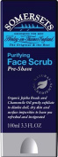 THREE PACKS of Somersets Pre-Shave Face Scrub 100ml