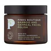 Pinks Boutique Bamboo and Oatmeal Facial Polish 60 g