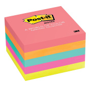Post-it Notes, 7.6cm x 7.6cm , Cape Town Collection, 5 Pads/Pack