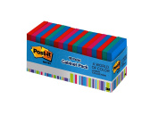 Post-it Notes, 7.6cm x 7.6cm , Jaipur Collection, 18 Pads/Cabinet Pack