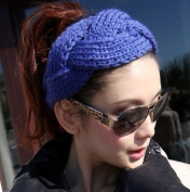 Dealzip Inc Cute Exquisite Gilrls Womens Lady Winter Warm Twists Knit Crochet Snood & Headband
