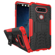 LG V20 Case, NOKEA Heavy Duty Hybrid Armour Rugged Dual Layer Case with kickstand Shock Proof Tough Rugged Dual-Layer Case for LG V20