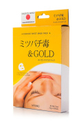 MITOMO Face Sheet Mask Gold and Bee Venom / Pack of 10 sheets.