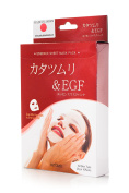 MITOMO Face Sheet Mask Snail Extract and EGF / Pack of 10 sheets.