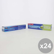 Set 24 PEPSODENT 100 Herbal Fresh Spazzolini e dentifrici