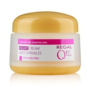 Regal Q10+ Minerals Anti wrinkles Night cream for dry and sensitive skin 50ml