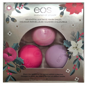EOS Holiday 2016 Limited Edition Lip Balm Honey Apple, Passion Fruit & Wildberry
