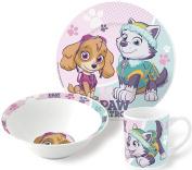 Paw Patrol Ceramic Breakfast Set for Girls