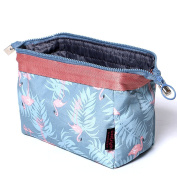 ColorMixs® Cosmetic Bags, Large Portable Travel Cosmetic Bag Makeup Case Pouch for Women