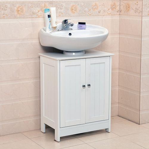 Vivo © Undersink Bathroom Cabinet Cupboard Vanity Unit Under Sink Basin Storage