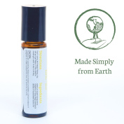 Happy Joy Essential Oil Blend Roll-On Bottle by Simply Earth - 10ml, 100% Pure Therapeutic Grade
