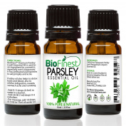 BioFinest Parsley Leaf Oil - 100% Pure Parsley Leaf Essential Oil - Detox Body, Relieve Indigestion and Nausea - Premium Quality - Therapeutic Grade - Best For Aromatherapy - . 10ml)