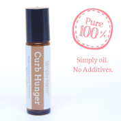 Curb Hunger Essential Oil Blend Roll-On Bottle by Simply Earth - 10ml, 100% Pure Therapeutic Grade