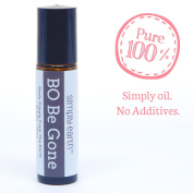 BO Be Gone Essential Oil Blend Roll-On Bottle by Simply Earth - 10ml, 100% Pure Therapeutic Grade