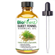 BioFinest Fennel Oil - 100% Pure Fennel Essential Oil - Natural Laxative For Detox - Premium Quality - Therapeutic Grade - Best For Aromatherapy - FREE E-Book and Dropper