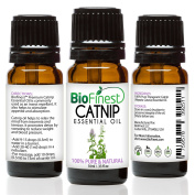 BioFinest Catnip Oil - 100% Pure Catnip Essential Oil - Boost appetite, Detox, Relax Mind - Premium Quality - Therapeutic Grade - Best For Aromatherapy - . 10ml)