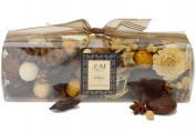L & M Vanilla Potpourri is made with Essential oils and all natural botanicals. The lovely award winning scent has soft notes of French Vanilla, Star Anise and a hint of Sweet Spice~ 250ml Box~