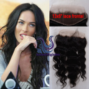 Brazilian Virgin Hair Body Wave 33cm x 15cm Lace Frontal Closure Free Part Bleached Knots Baby Hair Full Lace Frontal