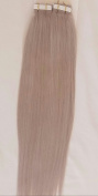 46cm 100grs,40pcs, 100% Human Tape In Hair Extensions # Ash Blonde