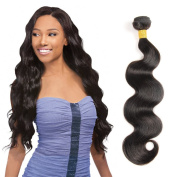 Brazilian Virgin Hair Body Wave 1PC 100% Unprocessed Virgin Human Hair Weave Extensions Natural Colour(100+/-5g)/pc