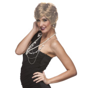 Sepia Costume Unisex Synthetic Wig - Gold Blonde