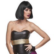 Sepia Costume Party Page Synthetic Wig - 1