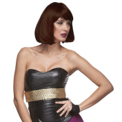 Sepia Costume Party Page Synthetic Wig - 12