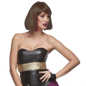 Sepia Costume Party Page Synthetic Wig - 27