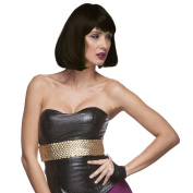 Sepia Costume Party Page Synthetic Wig - 2