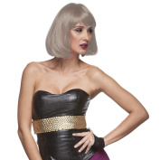 Sepia Costume Party Page Synthetic Wig - 24