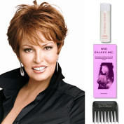 Excite by Raquel Welch Wigs, Wig Galaxy Hair Loss Booklet, 60ml Travel Size Wig Shampoo, & Wide Tooth Comb (Bundle - 4 Items), Colour Chosen