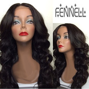 Fennell 150% Density Human Hair Body Wave Lace Front Wig/Full Lace Wig Bleached Knots With Baby Hair Natural Colour For Black Women
