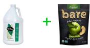 Shikai Natural Everyday Shampoo -- 3.8l,Bare Organic Baked Crunchy Apple Chips Gluten Free Great Granny -- 90ml