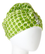 Wrapadoo 2-in-1 Hair Towel, Kiwi-Lime