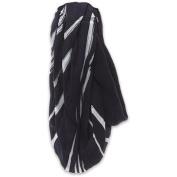 Elle Navy & White Wide Stripe Head Wrap
