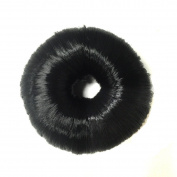 Black Hair Bun Ring Donut Shaper Magic Hair Chignon Hair Styler Maker Bun