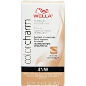 Wella Colour Charm 4NW Medium Natural Warm Brown Permanent Liquid Hair Colour Value Packs (2 pcs) by Wella Colour Charm