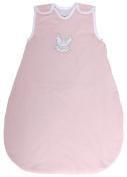 "Baby Sleeping Bag ""Guardian Angel Rose"", Summer Model, 100% Cotton Shell, 1 Tog (Large"