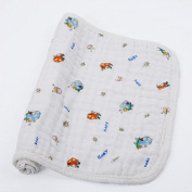Fairy Baby 6-Layers Soft Breathable Gauze Nappy Inserts Pack of 10,Snail