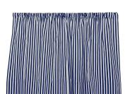 Zen Creative Designs Premium Cotton Half Inch Stripes Curtain Panel / Home Decor / Window Treatments / Kitchen / Living Room / Bed Room / Small / Stripes / Lines
