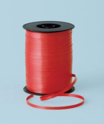 Red Curling Ribbon 500m