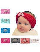 Baby's hair band Baby Girl Crystal Pearl Crystal Crown Princess Headband